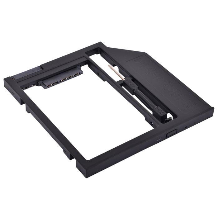 Салазки Espada ( SS90 ) для замены привода в ноутбуке 9,5мм на SATA/miniSATA (SlimSATA)