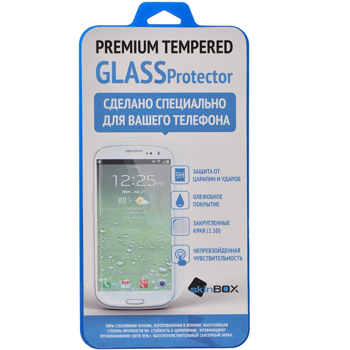 Защитное стекло SkinBox для ZTE Blade L3