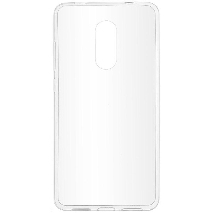 Чехол SkinBox 4People Slim Silicone case для Xiaomi Redmi Note 4X, прозрачный