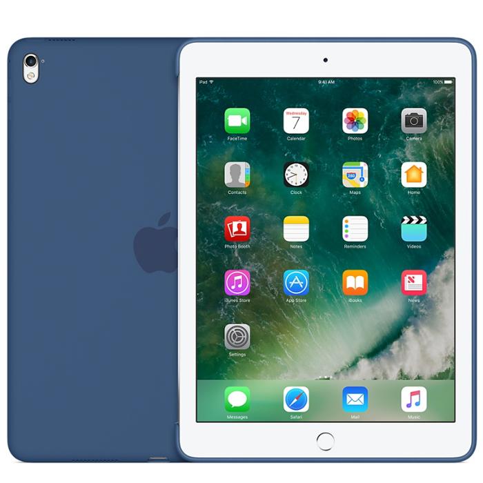 Чехол для iPad Air/Air 2/Pro 9.7 Apple Silicone Case Ocean Blue MN2F2ZM/A