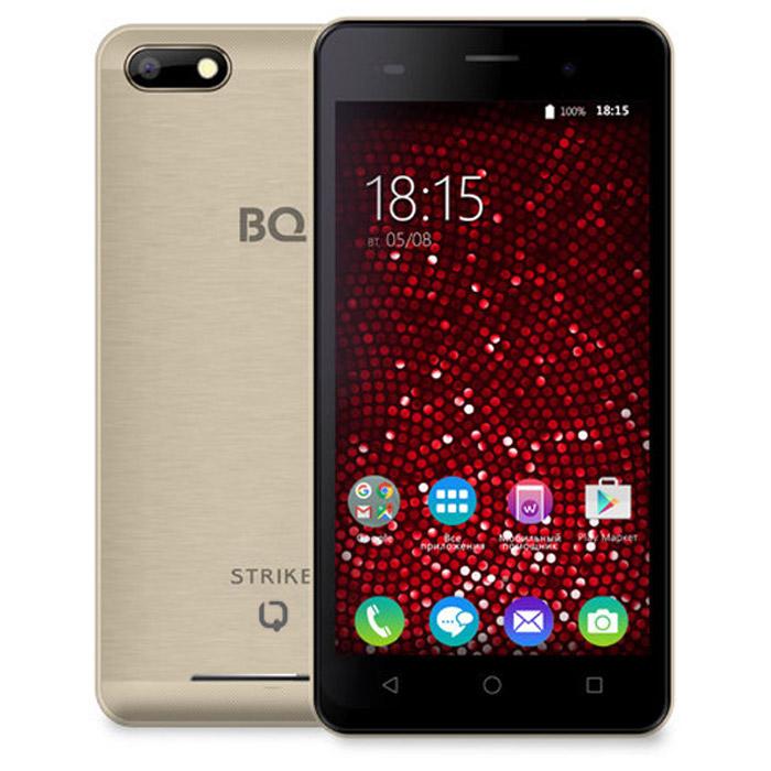 Смартфон BQ Mobile BQS-5020 Strike Gold Matt