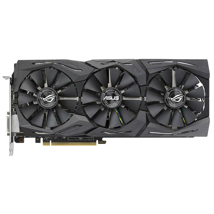 Видеокарта PCI-E ASUS GeForce GTX 1080 8192Mb, GDDR5 ( Strix-GTX1080-O8G-11GBPS ) Ret