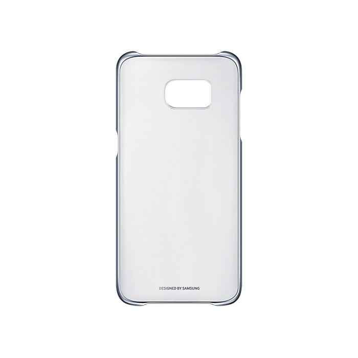 Чехол Samsung Clear Cover для Samsung G935F Galaxy S7 edge, чёрный