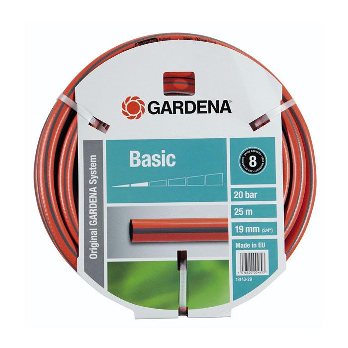Шланг GARDENA Basic 3/4″ — 25м 18143-29.000.00