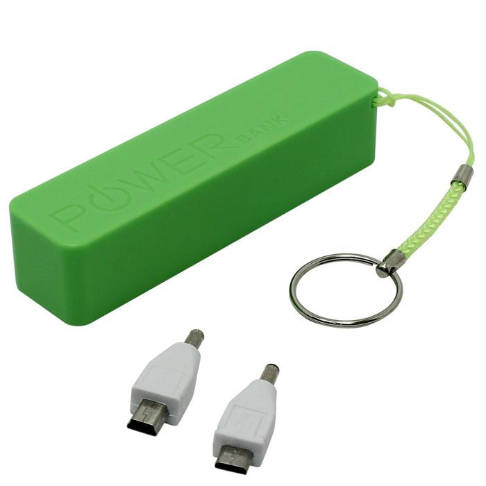 Внешний аккумулятор универсальный KS-is KS-200Green 2200mAh зеленый