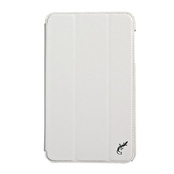 Чехол G-case Slim Premium для Samsung Galaxy Tab 4 8.0 SM-T330\SM-T331, эко кожа, белый