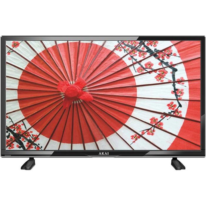 Телевизор ЖК 24″ Akai LEA-24K39P черный