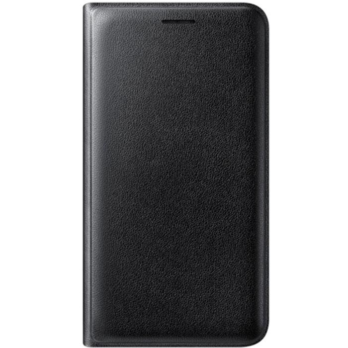 Чехол Samsung Flip Wallet для Galaxy J1 (2016) SM-J120F/DS, черный