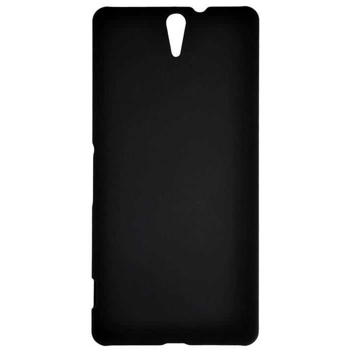 Чехол SkinBox 4People для Sony E5533 Xperia C5 Ultra, черный