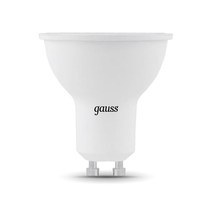 Светодиодная лампа Gauss MR16 GU10 7W 220V белый свет