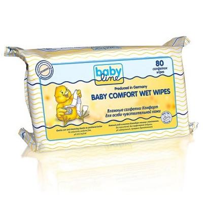 BabyLine Влажные салфетки «Комфорт» 80 шт.