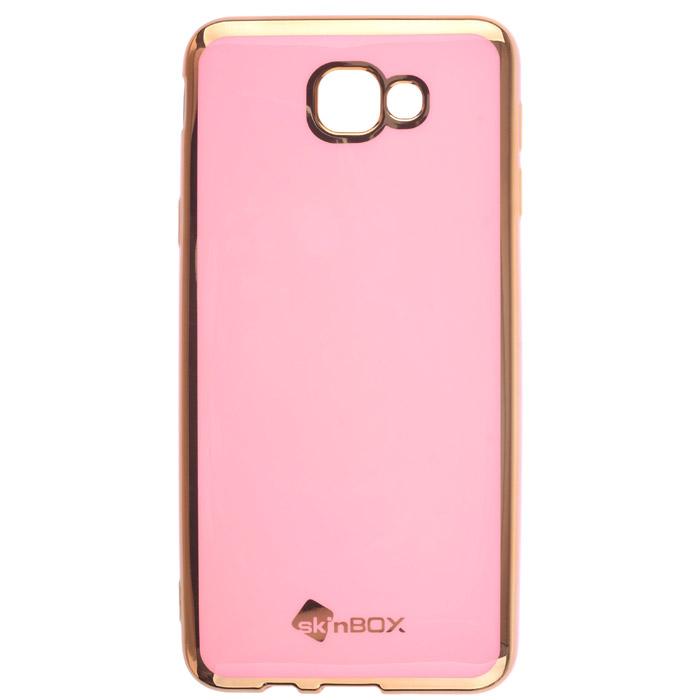 Чехол SkinBox Силиконовая накладка для Samsung Galaxy J5 Prime SM-G570F/DS, пудра