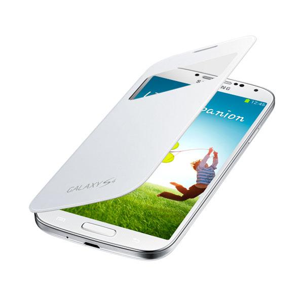 Чехол для Samsung i9500/i9505 Galaxy S IV Samsung EF-CI950BWE S-View белый