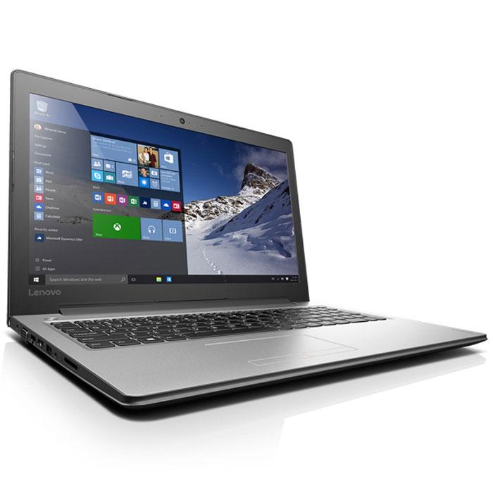 Ноутбук Lenovo IdeaPad 300-15IBR N3710/2Gb/500Gb/920M 1Gb/DVDRW/15.6″/HD/W10 Silver