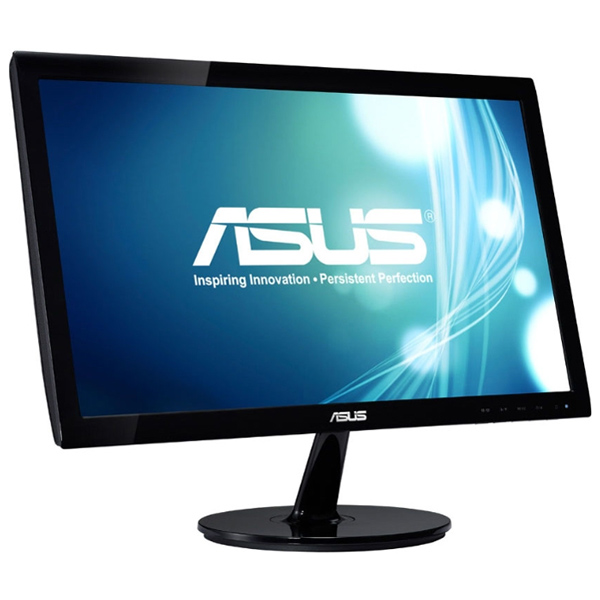 Монитор ЖК ASUS VS207T-P 19.5″ black VGA DVI