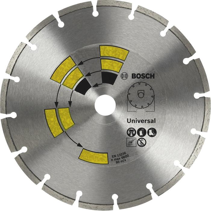 Алмазный диск универсальный Bosch DIY 125мм 2609256401