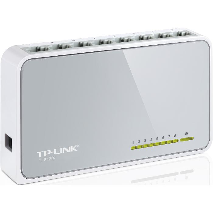 Коммутатор TP-Link TL-SF1008D 8 ports 10/100Mbps