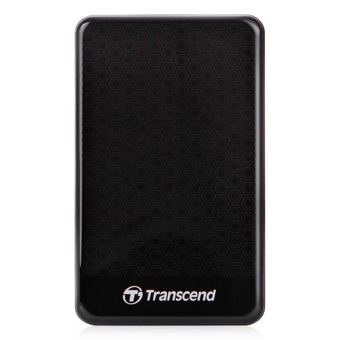 Внешний жесткий диск USB3.0 2.5″ 500Гб Transcend StoreJet 25A3 ( TS500GSJ25A3K ) Черный