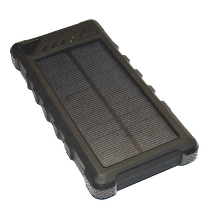 Внешний аккумулятор универсальный KS-is KS-303 с солнечной панелью 20000mAh черный