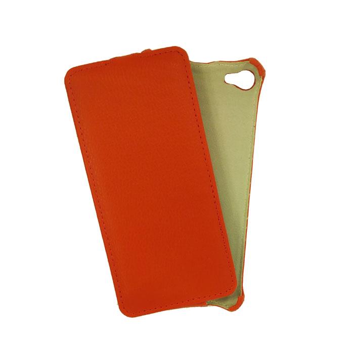 Чехол Gecko Flip для Meizu U10, красный