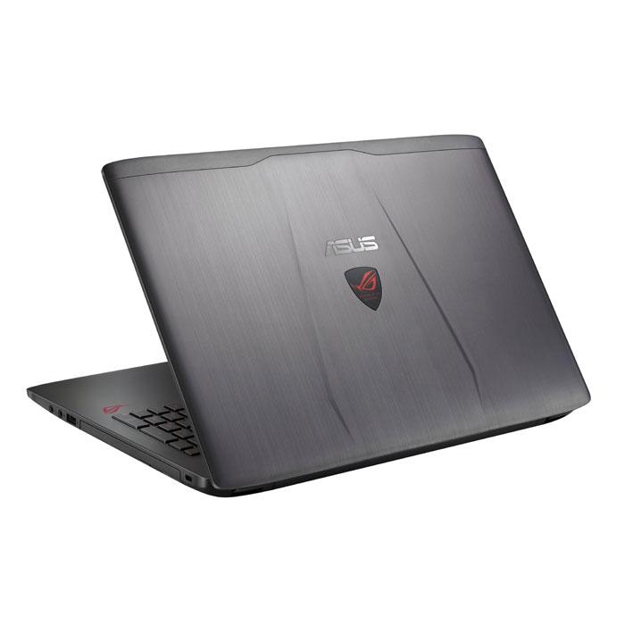 """Ноутбук 15.6"""" 15.6 Asus ROG GL552VW Core i7 6700HQ/12Gb/1Tb/NV GTX960M 4Gb/15.6"""" FullHD/DVD/рюкзак/мышь/Win10 серый ( 90NB09I3-M11320 )"""