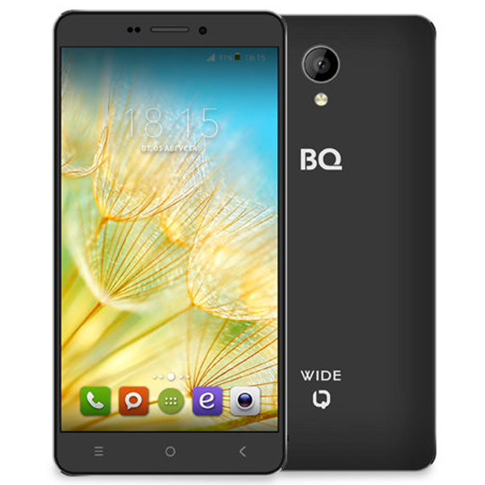 Смартфон BQ Mobile BQS-5515 Wide Black