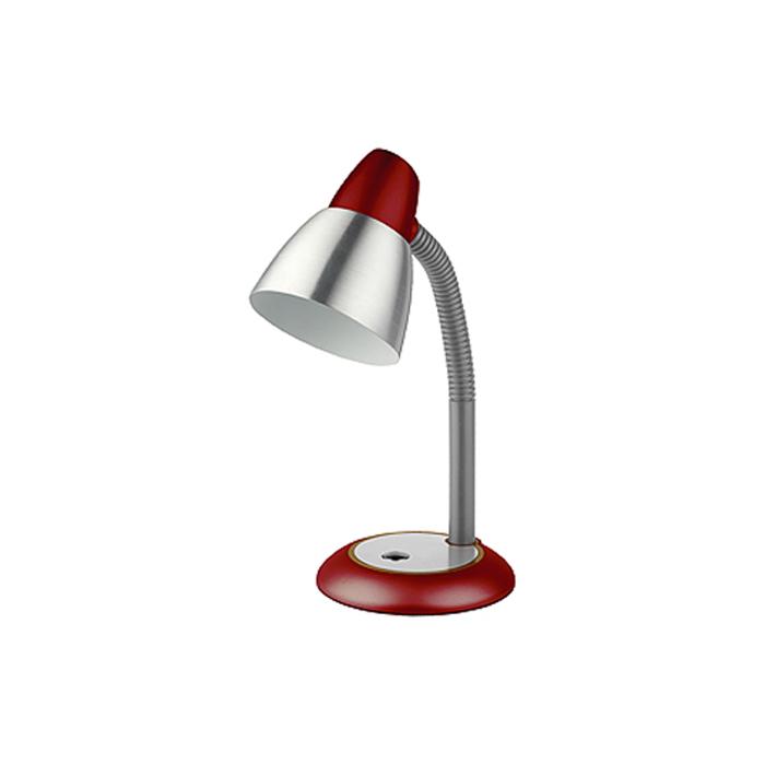 Светильник настольный ЭРА N-115-E27-40W-R красный