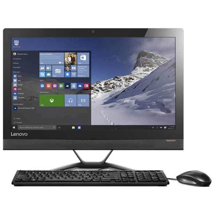 Моноблок Lenovo IdeaCenter 300-23ISU 23″ FullHD Core i3 6006U/4Gb/1Tb/NV 920A 2Gb/DVD/Kb+m/Win10 черный