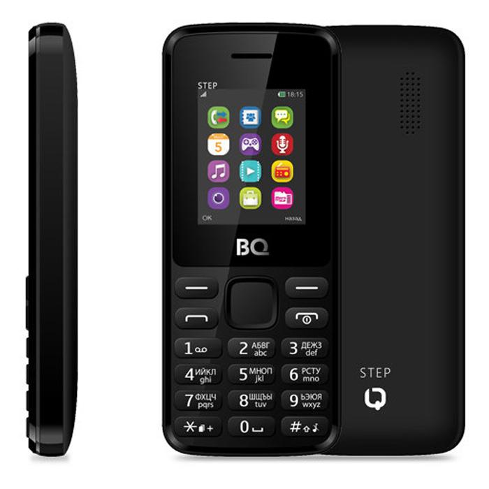 Сотовый телефон BQ Mobile BQM-1830 Step Black