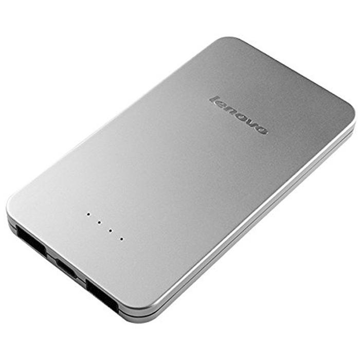 Внешний аккумулятор универсальный Lenovo PB410 5000mAh серебристый