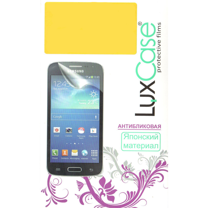 Защитная плёнка для Samsung Galaxy Core LTE G386F LuxCase Антибликовая