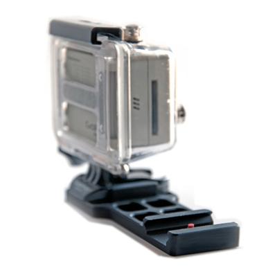 Крепление для GoPro Hero3 на оружие боковое Unlim ( DL009 )