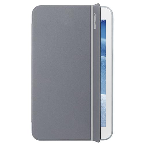 Чехол Asus Magsmart для MeMO Pad 7 ME176CME176CX, эко кожа, серебристо-серый