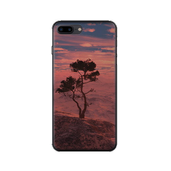 Чехол Deppa Art Case с пленкой для iPhone 7 Plus, Nature, Дерево