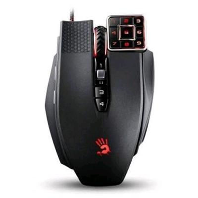 Мышь A4Tech Bloody ML16 Commander USB Black лазерная, проводная