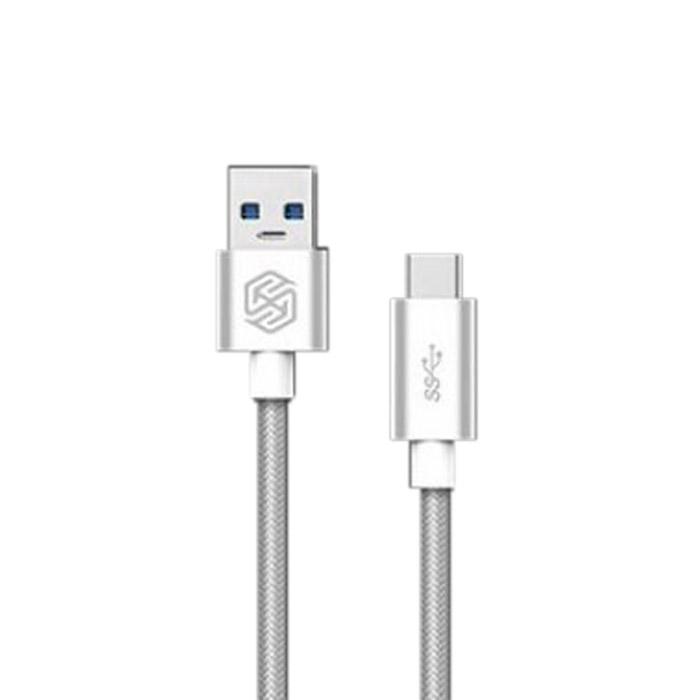 Кабель USB3.0 — Type C 1.0м Nillkin Elite ( NLK-874004Y0493 ) серебристый