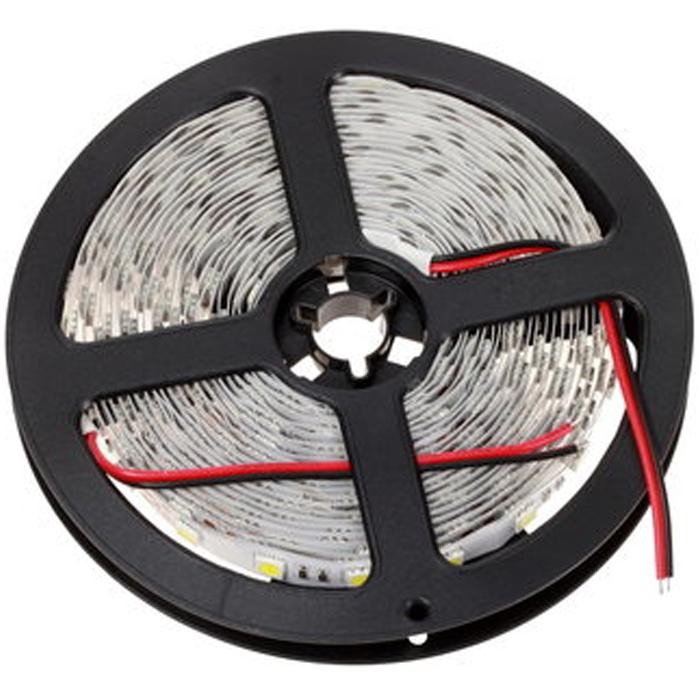 Светодиодная лента Crixled CRS SMD5050-300-WW-N-12В 60 диодов/м 14,4Вт/м однослойная плата, теплый белый 5м