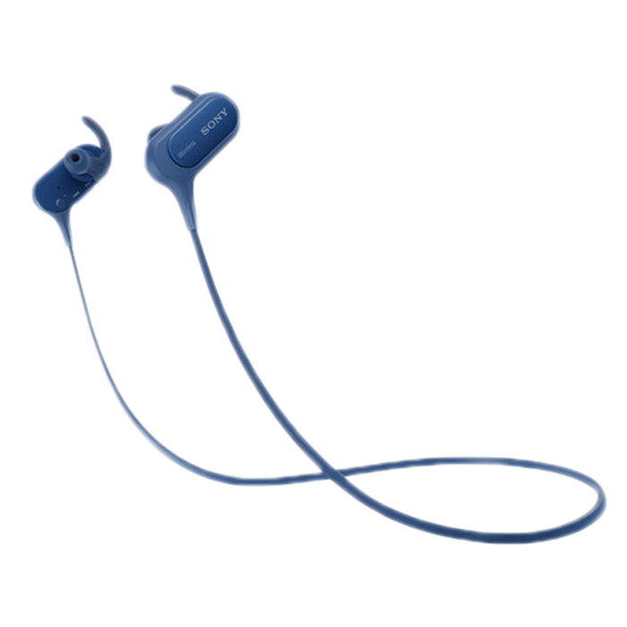 Bluetooth гарнитура Sony MDR-XB50BS синяя