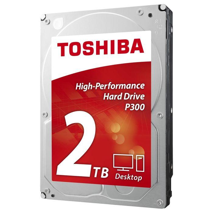 Жесткий диск 3.5″ SATA3 2.0Тб Toshiba P300, 7200rpm 64mb ( HDWD120UZSVA ) OEM