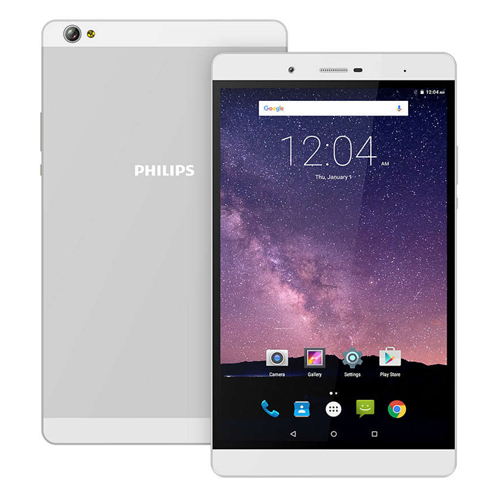 Планшет Philips E821L 16Gb 8.0 silver