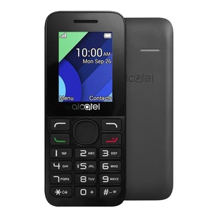 Телефон Alcatel One Touch 1054D Dual sim Charcoal Grey