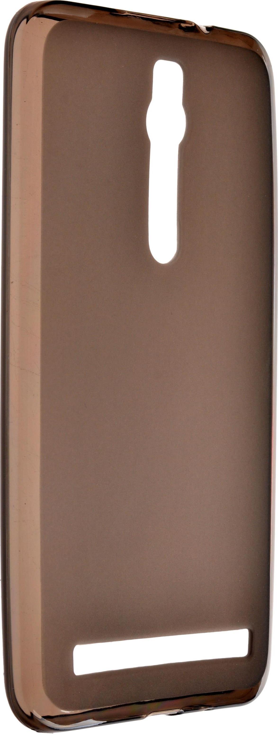 Чехол skinBOX 4People Shield silicone для Asus ZenFone 2 ZE550MLZE551ML коричневый