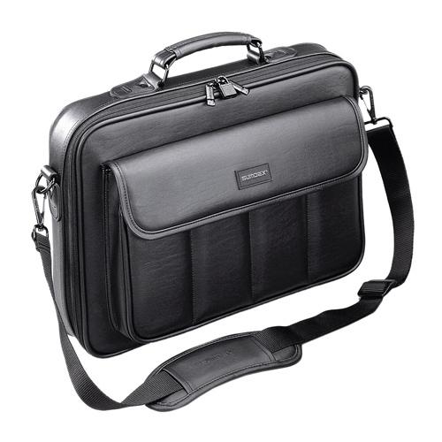 Сумка для ноутбука 15.6″ Sumdex CKN-002, черная, эко кожа