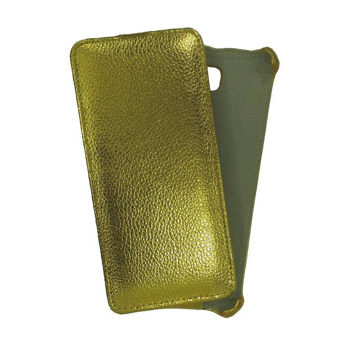 Чехол Gecko Flip Case для Samsung Galaxy A3 (2017) SM-A320F, золотой