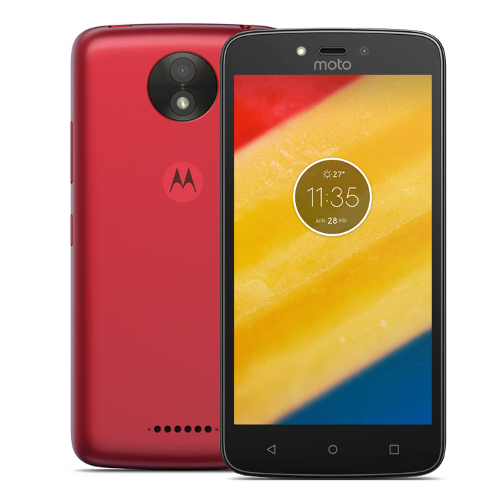 Смартфон Motorola Moto C Plus (XT1723)  Cherry