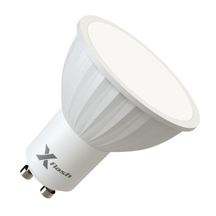 Светодиодная LED лампа X-flash MR16 GU10 4W 220V 46072 белый свет, матовый