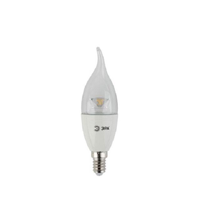 Светодиодная лампа ЭРА BXS E14 7W 220V Clear желтый свет