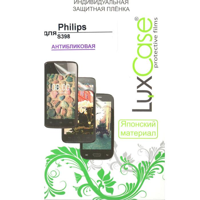 Защитная плёнка LuxCase для Philips Xenium S398, антибликовая