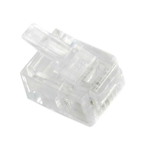 Коннектор телефонный 6p2c <> RJ11