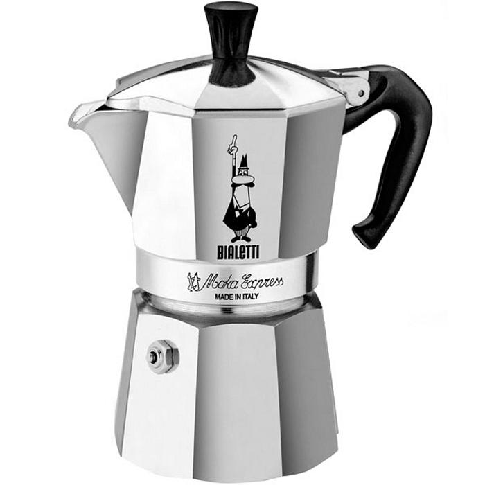 Гейзерная кофеварка Bialetti Moka Express 6 порций 1163